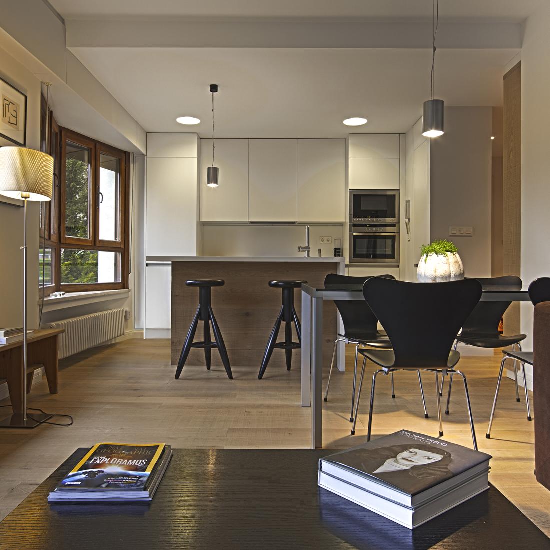 Piso sala cocina verno