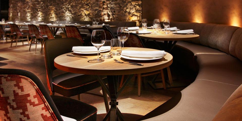 Bilbaoberria detalle mesas comedor verno