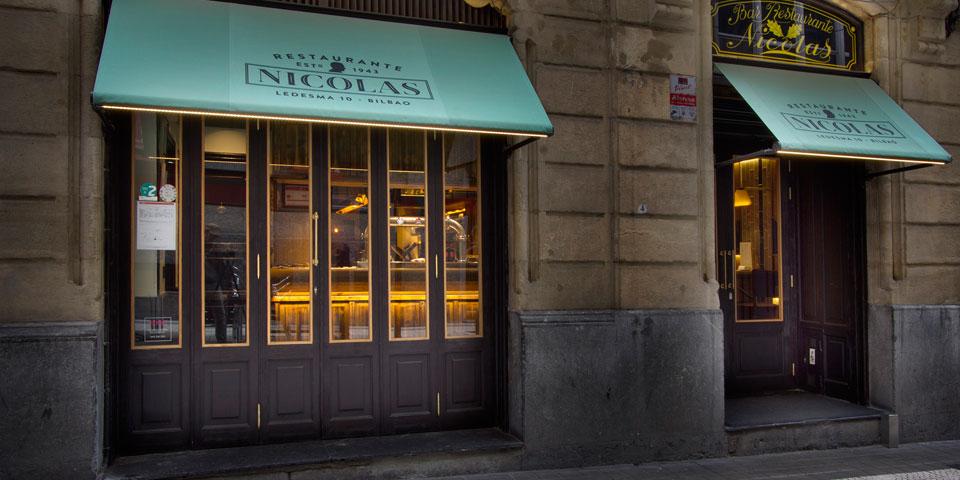 Nicolas fachada restaurante verno 1