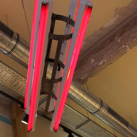 Dooers luminaria fluorescente verno